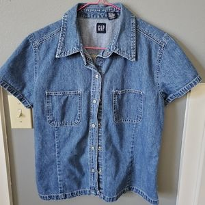 GAP denim top